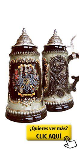 Jarra de cerveza alemana con los estados... #jarra