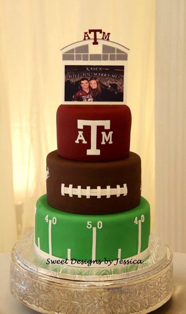 Texas A&M groom's cake
