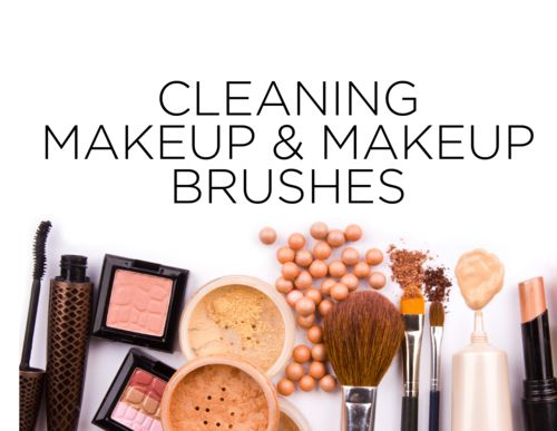 How to: Clean your Makeup & Brushes #makeup #cosmetics #makeupbrush