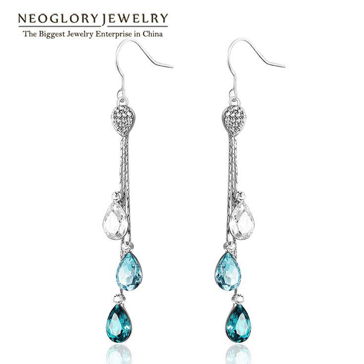 Blue Stoving Varnished Boho Big Enamel Butterfly Love Clip Stud Earrings For Women Friendship Gifts – lolfashion.net