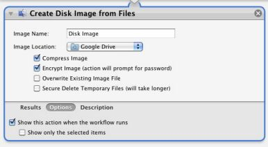 Automatically encrypt files for your Google Drive