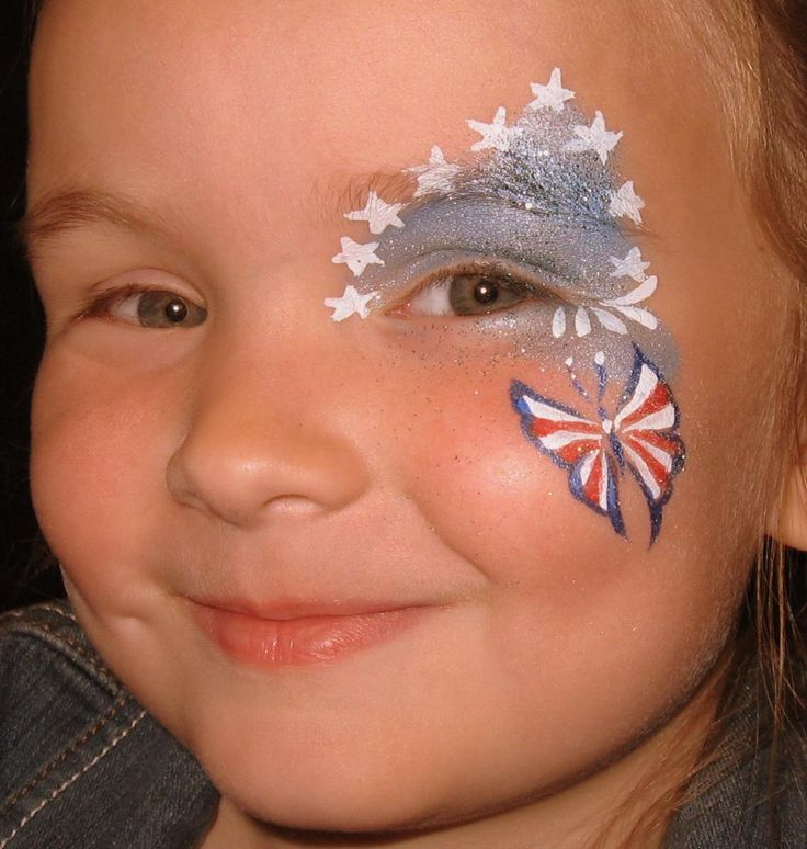 Glasgow face painting company gallery red white tear for Face painting business
