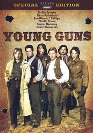 Young Guns (movie)  Love this movie!