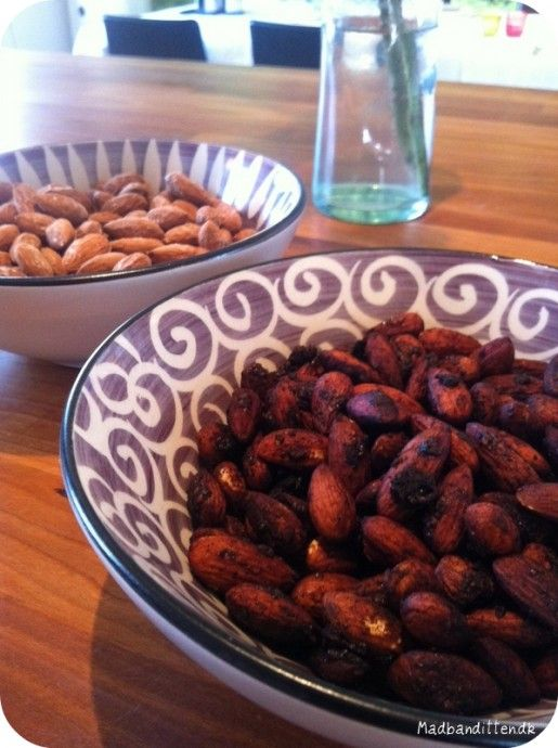 SAlt og soya mandler