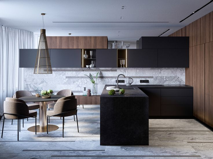 Modern apartment in Moscow