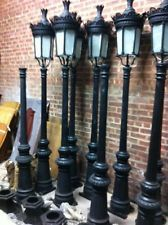 Trend SINGLE LIGHT VICTORIAN CAST IRON OUTDOOR STREET LAMP HSL Victorian LampenGusseisenStehleuchtenGarten