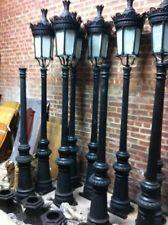 SINGLE LIGHT VICTORIAN CAST IRON OUTDOOR STREET LAMP HSL65