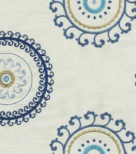 Upholstery Fabric- Waverly Ottoman Ornament/Aegean & home decor fabric at Joann.com
