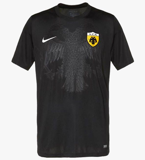 Nike AEK Athens 17-18 Home, Away & Third Kits Released - Footy Headlines