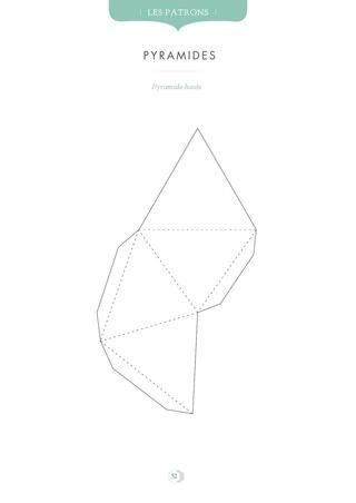 9 best Pyramid project images on Pinterest Origami, School - pyramid template
