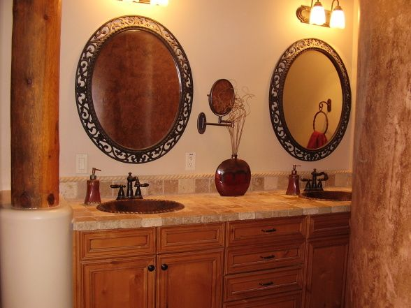 17 best images about santa fe on pinterest craftsman for Santa fe style bathroom ideas