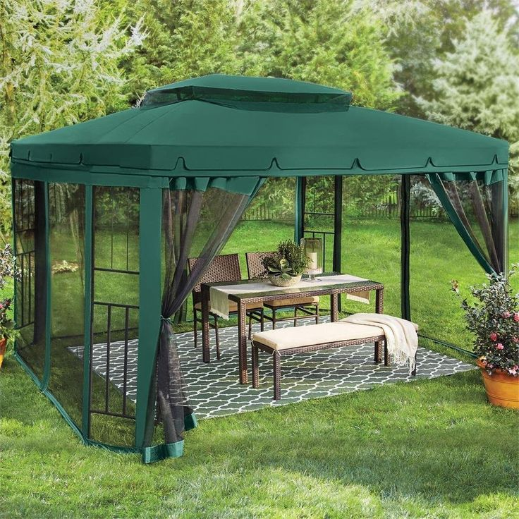 Green Canopy Decor: Best 25+ Screened Canopy Ideas On Pinterest