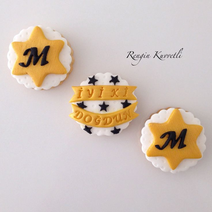Doğum günü kurabiye kutusu / Birthday Cookies