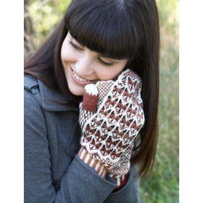 Free Experienced Women's Mittens Knit Pattern