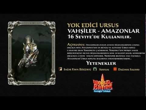 World of Battles Yok Edici Ursus (Amazonlar Devi)