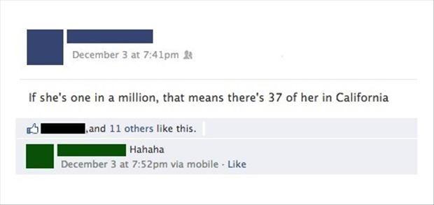 Funny Facebook Statuses – 20 Pics