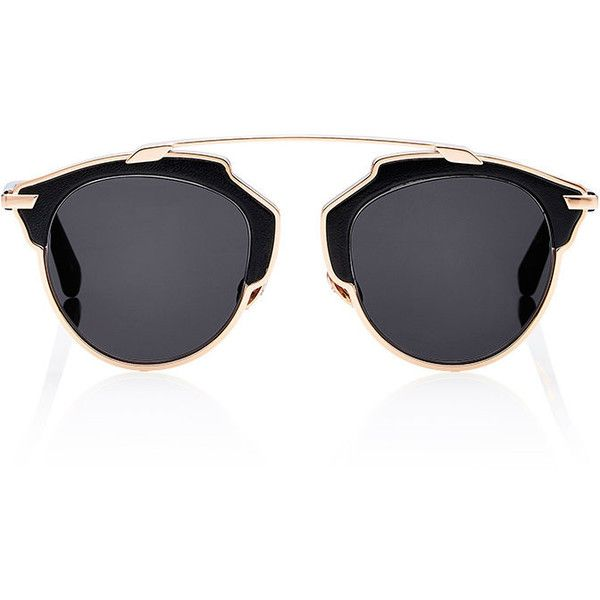 """Dior Women's """"Dior So Real L"""" Sunglasses (1,140 SGD) ❤ liked on Polyvore featuring accessories, eyewear, sunglasses, multi, tortoiseshell glasses, christian dior sunglasses, christian dior glasses, see through sunglasses and uv protection sunglasses"""