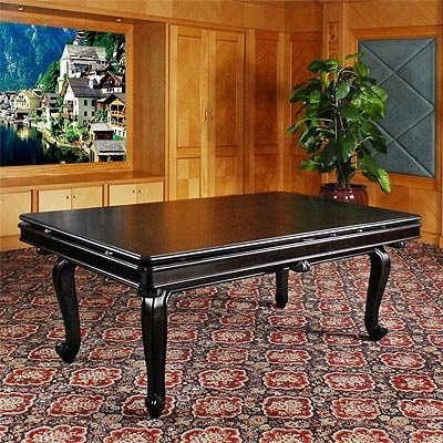 3 in 1 game table pool dining and poker for for Pool 5 in 1 tabs