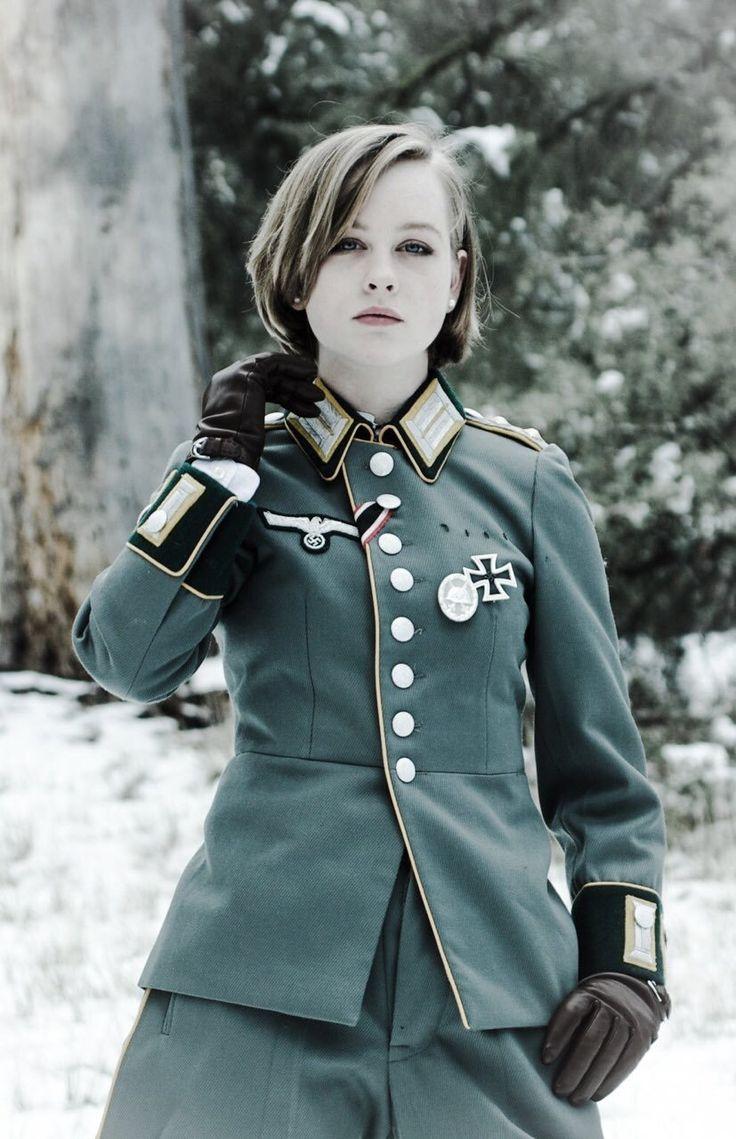 Sad brainwashed Nazi girls