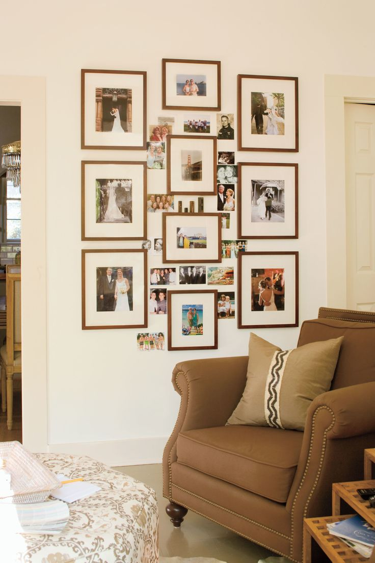 Best 25 photo collage walls ideas on pinterest 3 photo Photo collage ideas for living room