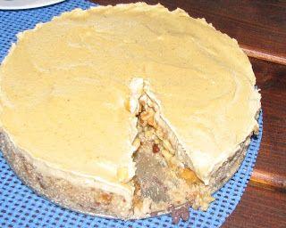 Gitta nyersétel blogja: Alma torta