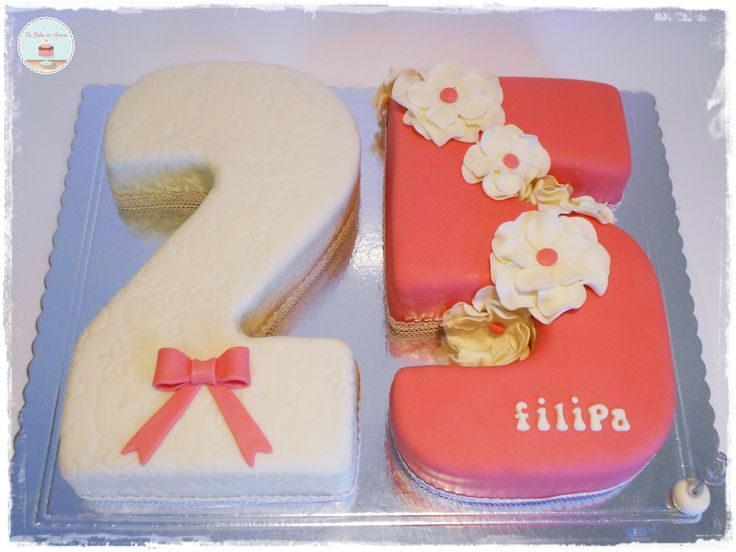 277 Best Images About Number Cakes On Pinterest 1