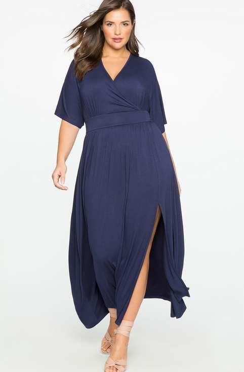 Платья для полных девушек и женщин американского бренда Eloquii, весна-лето 2017