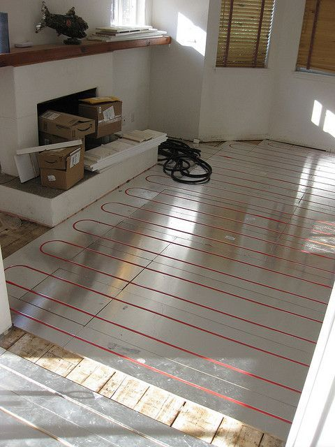 Tired of those cold floors that give you the chills? Here's a great way to install heated flooring! Find out how inexpensive this priceless upgrade really is! The best part, you can Do-it-Yourself! Would you want heated floors in your home? Click the Pin to read the Article. This would be a great option for the bedrooms/living areas in the basement. It's always so chilly there.
