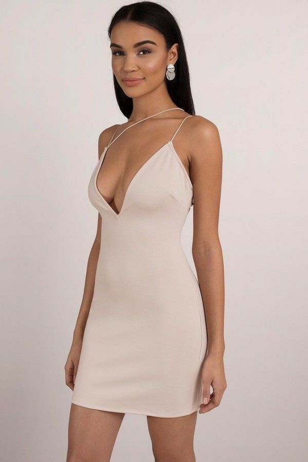 b83a0a4a3f Retrograde nude body on dress  23 tobi Black Bodycon Dress