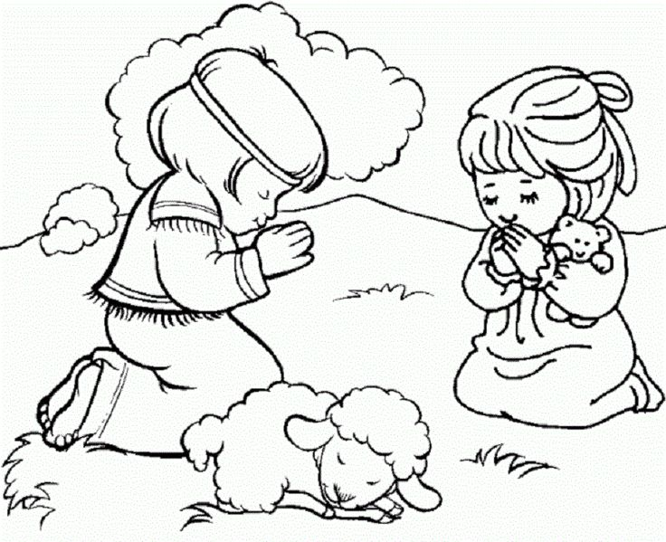 Easter Coloring Pages Preschool