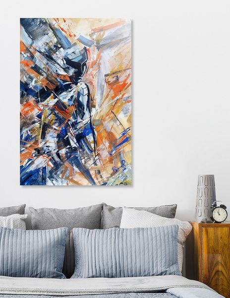 "Discover «""Electric soul""», Exclusive Edition Aluminum Print by Bianca  Paraschiv Art - From $75 - Curioos"