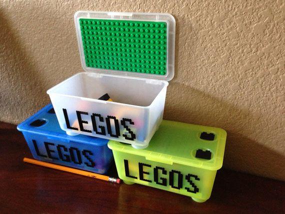 Travel Lego Kit small box & easily portable by CreativeCaterpillar