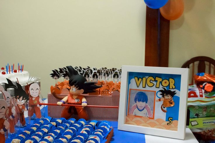 Dragon Ball Z Cake Decorating Kit : 17 Best images about Dragon Ball Birthday Party on ...