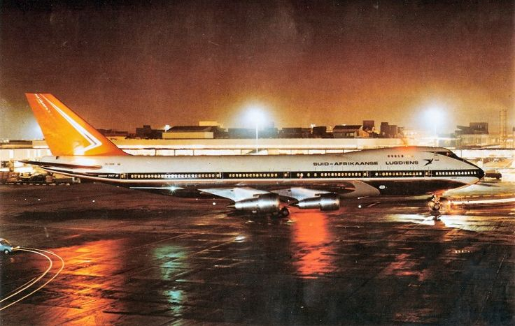 SAA Boeing 747 ZS-SAN Lebombo
