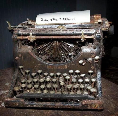 The typewriter survived a flood and a fire, and could type better than ever