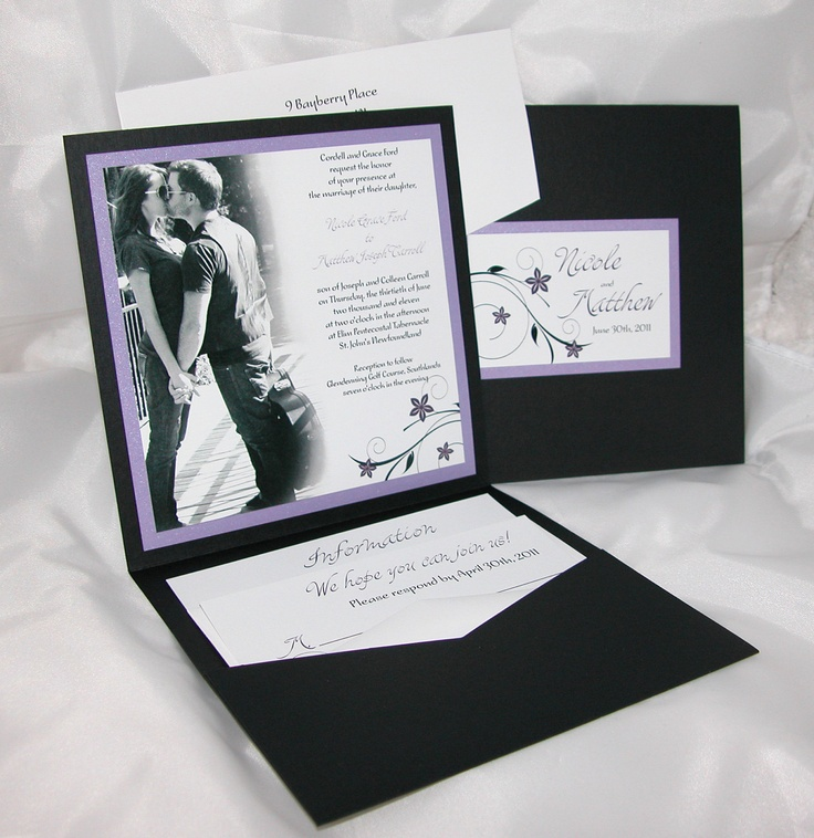 funny personal wedding card matter%0A Photo Pocketfold Wedding Invitation Sample by paperstudioca