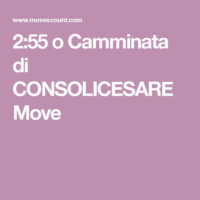2:55 o Camminata di CONSOLICESARE Move