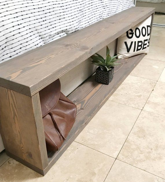 Miraculous Bench Entryway Bench End Of Bed Bench In 2019 Diy Wood Machost Co Dining Chair Design Ideas Machostcouk