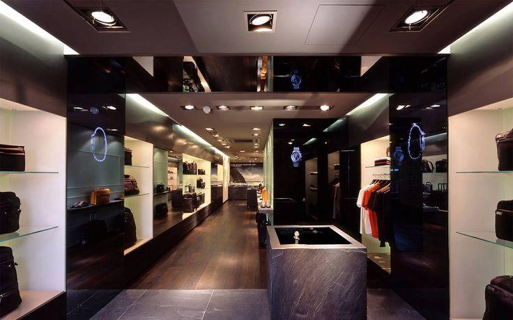 Client: Porsche Design Location: London Design: Matteo Thun & Partners Year: 2005 #interior #shopfitting #store #retail #shop #design #Porsche_design #London #fashion