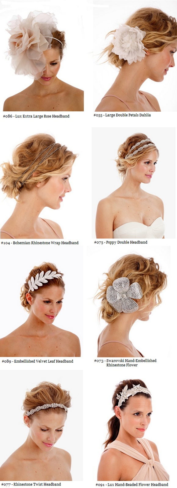 Untamed Petals, Hair Pieces, Floral Pieces, Sparkly Headbands