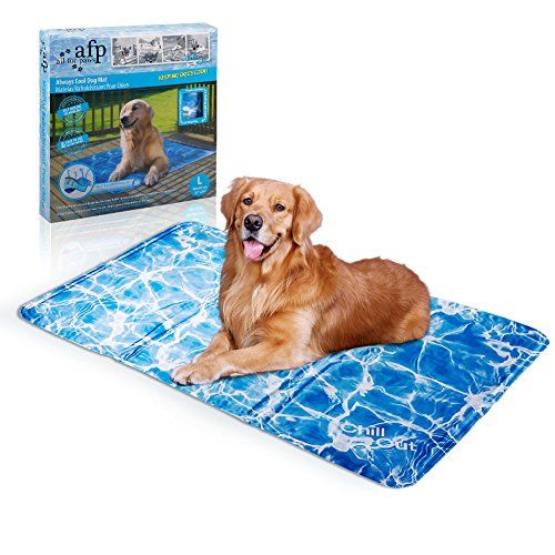 "Pet Cooling Mat Dog Cooling Pad Self Cooling Cushion Keeping Pets Cool Summer Sleeping Mat (L):   Pet Cooling Mat Dog Cooling Pad Self Cooling Cushion Keeping Pets Cool Summer Sleeping Mat/bbrbr Size:brbr Medium: 20*16 inches.brbr Large: 35*24 inches.brbrbr The ""Always Cool Dog cool Mat"" gives your dog a place to rest and refresh on a hot summers days.brbr No refrigeration, electricity or water required/b. It is activated by weight and pressure. The ""Always Cool Dog Mat"" will be cooler..."