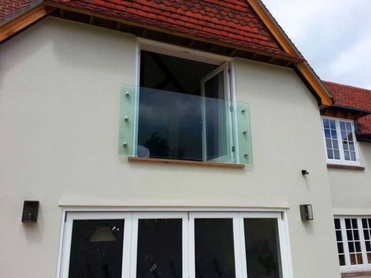 A beautiful Juliet Balcony on a residential project in Oxford. Juliet Balconies open up a room to the outdoors allowing natural light to flood in while also maintaining safety.