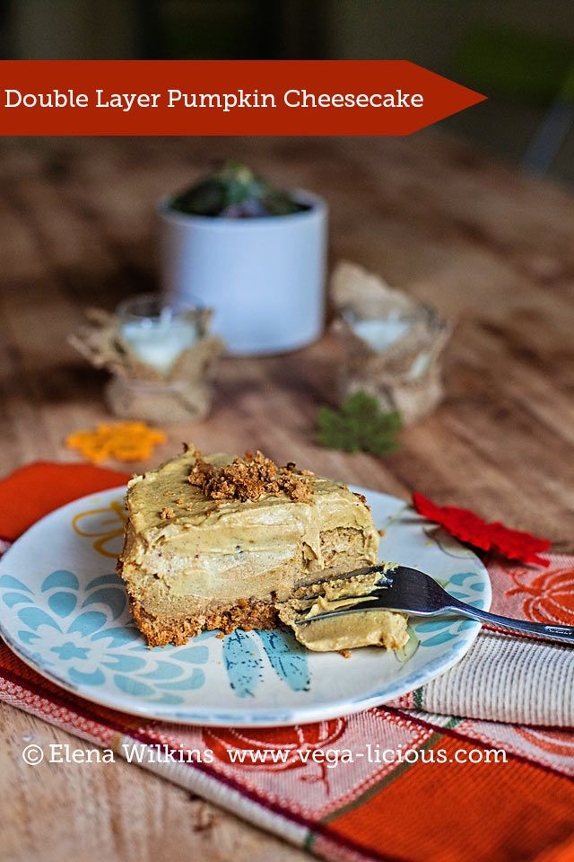 Double layer pumpkin cheesecake on Pinterest | Double layer pumpkin ...