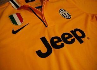 13/14 juventus yellow shirt