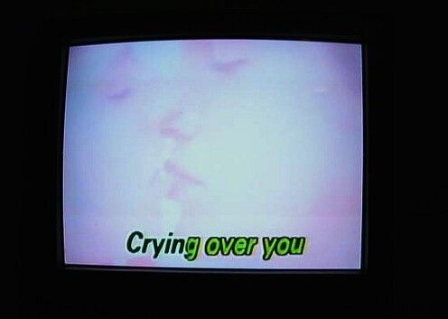 Crying over you shared by betzabe on We Heart It