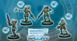 Image result for images of old infinity miniatures combined army yaogat strike infantry
