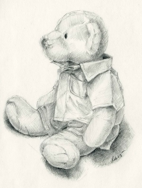 10  Lovely Teddy Bear Drawings for Inspiration