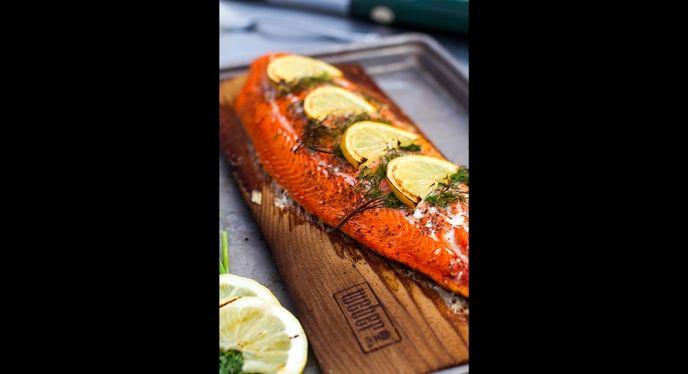 5 Steps To A Cedar Planked Salmon