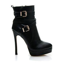 DÁMSKE ELEGANTNÉ členkové topánky, Unikátne topánky na čap Zapínanie na zips na vnútornej strane topánky. Zateplené mäkkým kožúškom. Podpätok: 14,5cm Platforma: 3cm Výška topánky: 11-13cm (záleží od veľkosti) Obvod horného lemu: 22-26cm (záleží od veľkosti) Materiál: eko koža https://cosmopolitus.eu/product-slo-37905-DAMSKE-ELEGANTNE-clenkove-topanky-Unikatne-topanky-na-cape.html #shoes #autumn #practical #shoe #Workers #elegant #comfortable