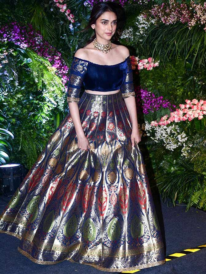 102c0844cb Best Dressed Celebs at Virushka Reception in Mumbai | Divas | Wedding  reception outfit, Dresses, Indian wedding gowns